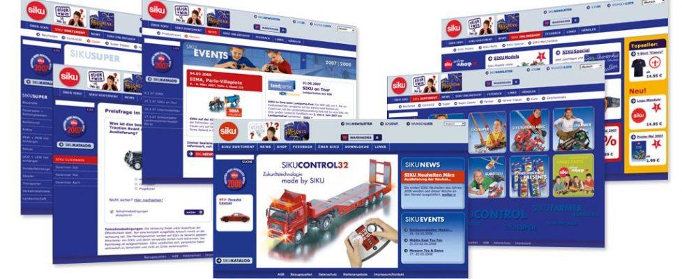 SIKU Webentwicklung online marketing maßnahmen IT-Konzept Internetportal SIKU