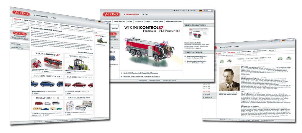 Wiking Modellbau - IT-Projektleitung und Technische Realisierung Online-Marketing-Maßnahmen