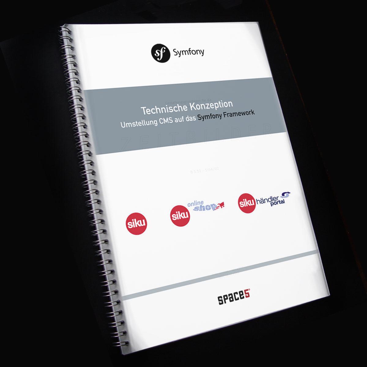 Technische Konzeption Web Content Management System SIKU - Umstellung auf das Opensource Framework Symfony