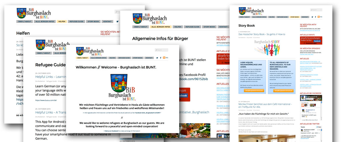 Pro bono Projekt - BIB Flüchtlingshilfe Burghaslach