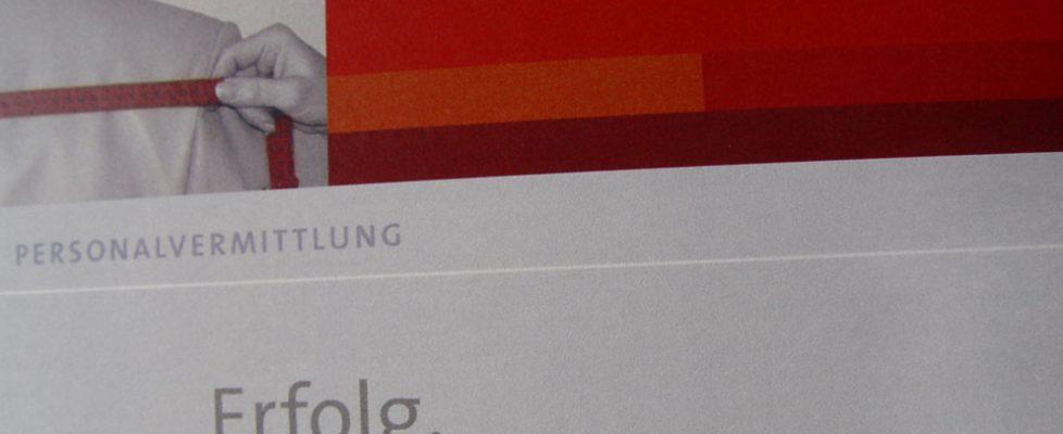 Unternehmenskommunikation Herzog Imagebroschüre für KMU - Personalvermittlung
