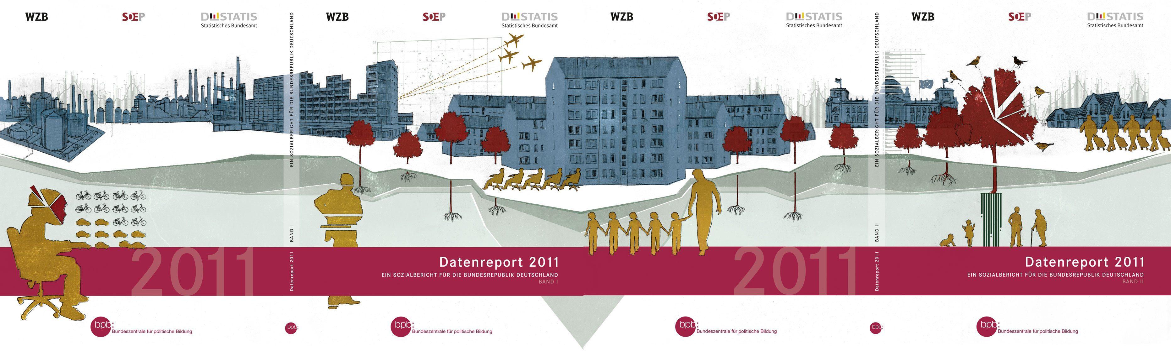 Buchpublikation Datenreport 2011 für Destatis und Bundeszentrale für politische Bildung, Zeitbilder