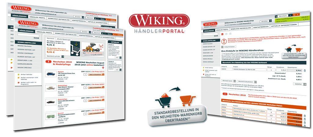 Wiking Modellbau, Webdevelopment, Online Marketing B2B
