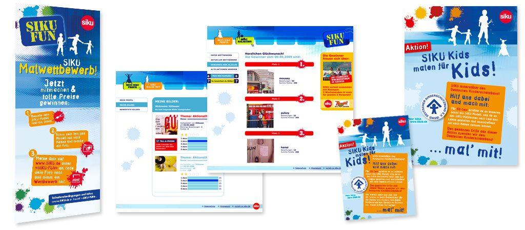 SIKU Webdevelopment, Fan-Microsite