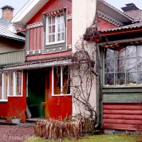 Carl Larsson House near Falun in Sweden