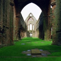 Sweetheart Abbey, South Scotland