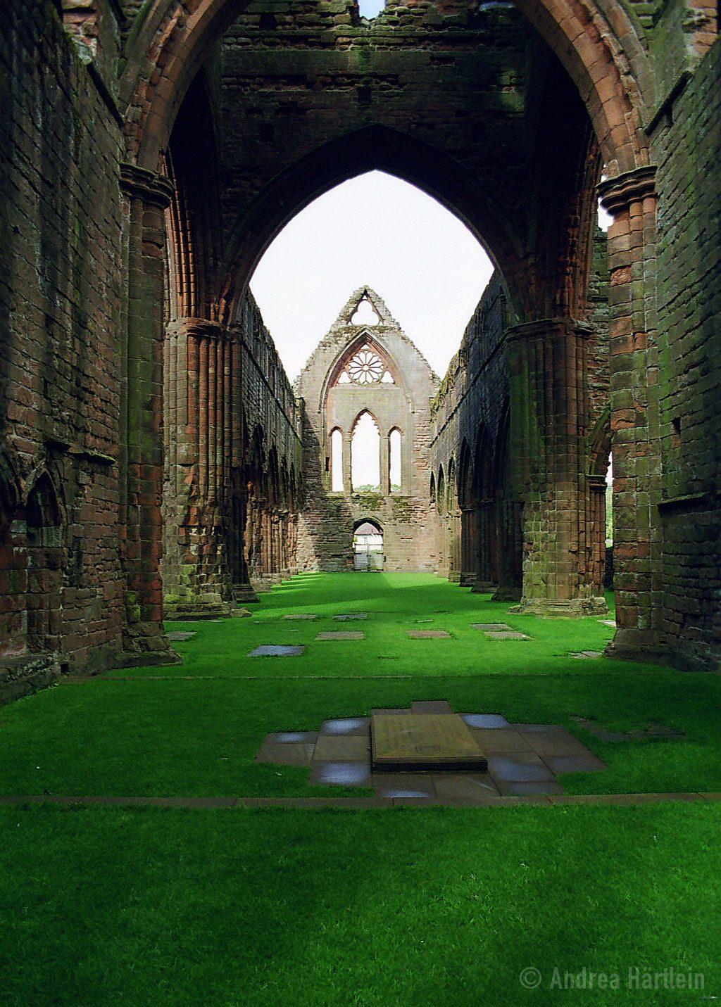 Sweetheart Abbey, South Scotland