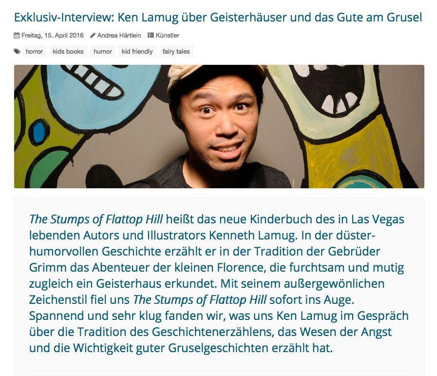 Interview - Comics & Pop Culture, Andrea Härtlein