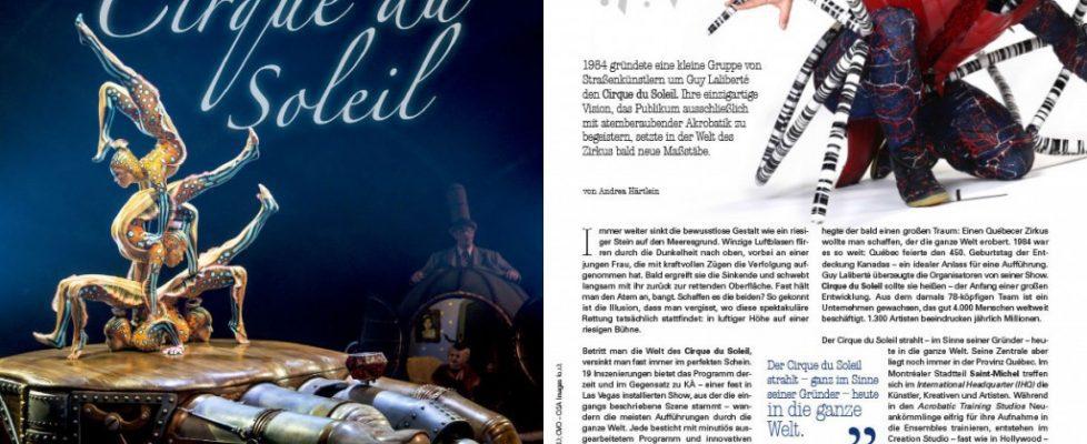cirque du soleil reportage - Andrea Härtlein