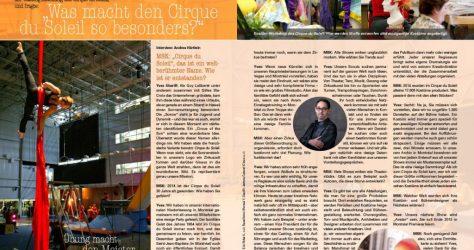 cirque du soleil interview - Andrea Härtlein