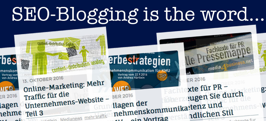 SEO Blogging für Unternehmen