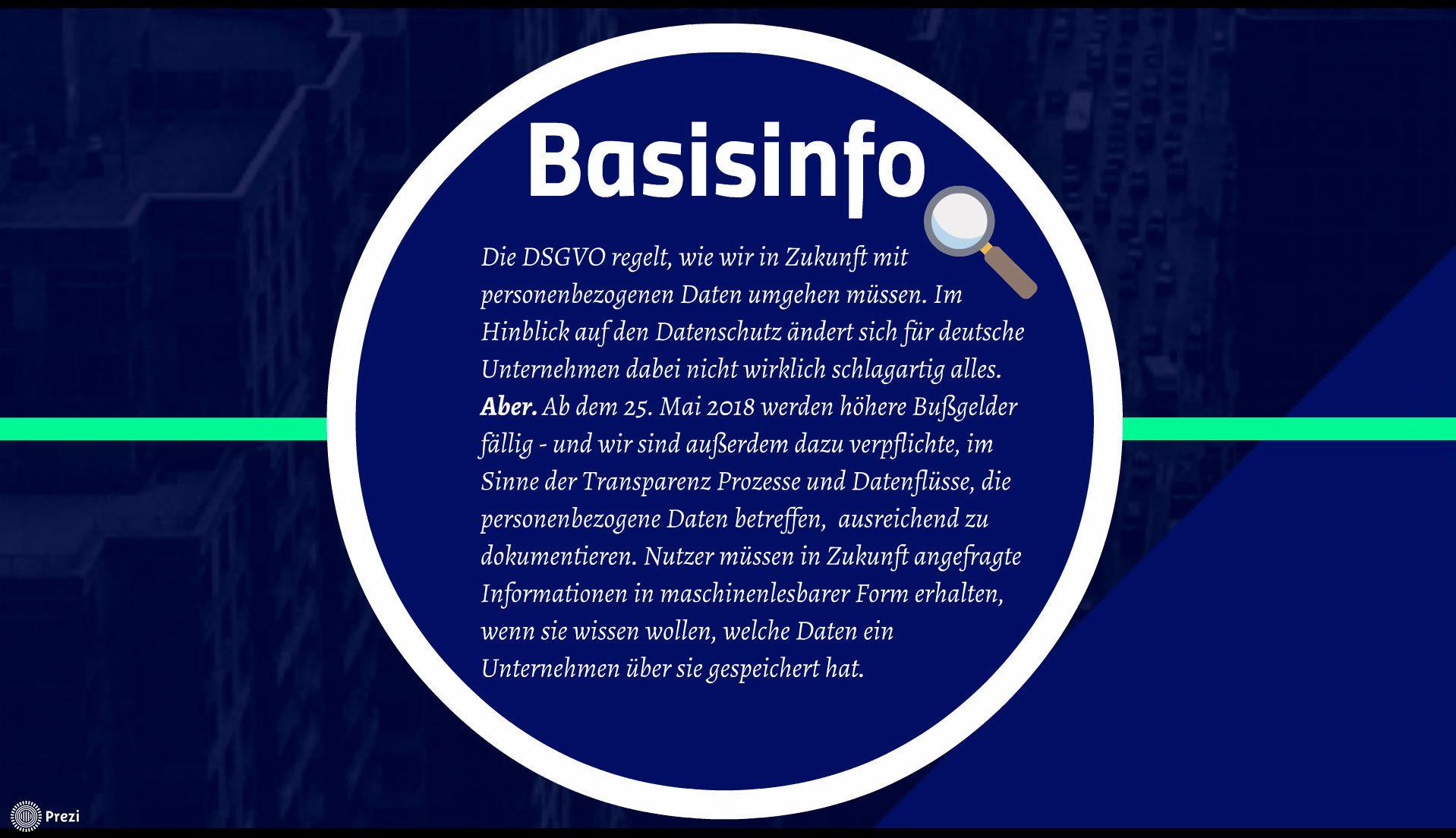 DSGVO Checkliste für KMU