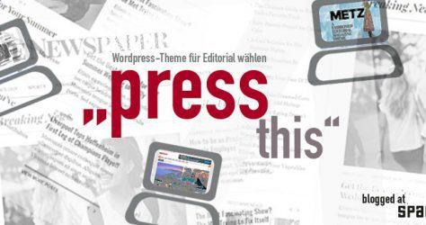 wordpress theme auswahl für editorial - space5 blog