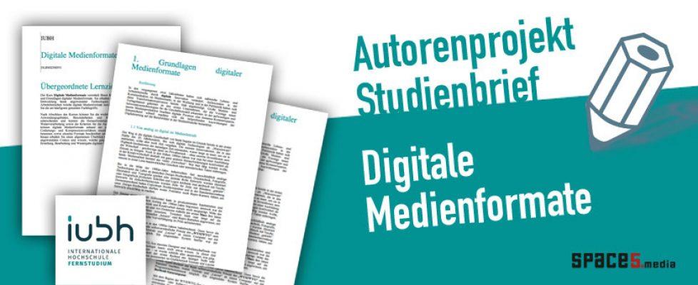 space5media - Andrea Härtlein - erstellung von studienbriefen medieninformatik / mediendesign