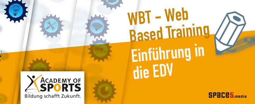 Trainerin Academy of Sports WBT Web Based Training Thema EDV